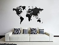 Карта Wall Decoration Black